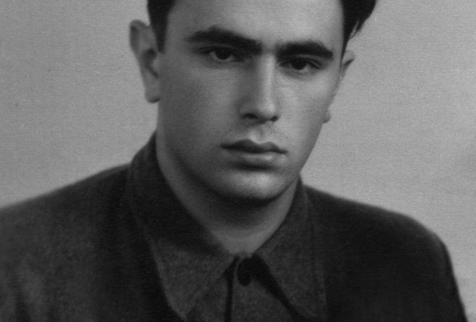 Анатолий Вершик, первая половина 1950-х. Из личного архива А.М. Вершика.