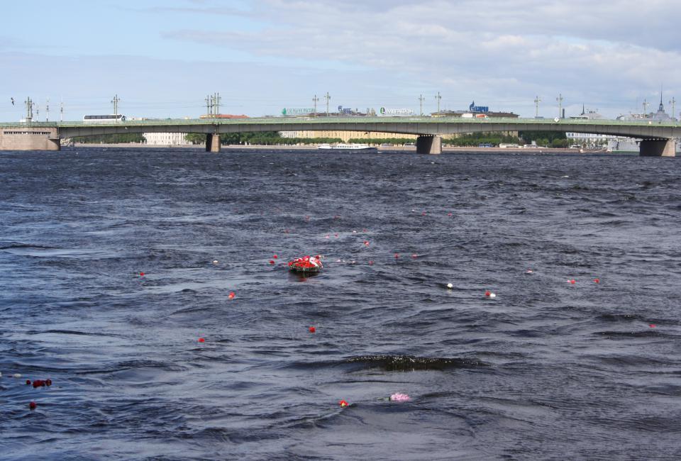 Акция памяти погибших в тюрьмах Ленинграда, 2010 год