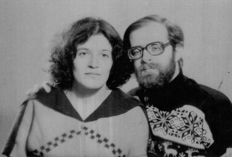 Ирина и Аркадий Цурковы. Фото из архива Фонда Иофе
