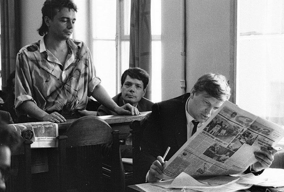 Константин Кинчев в зале суда. Фото: Валентин Барановский